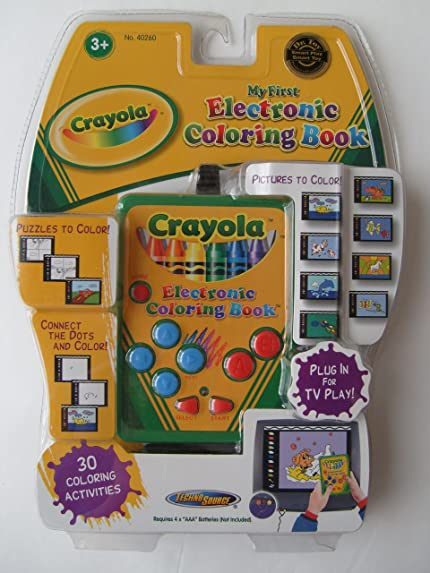 Amazon com my first electronic coloring book video games