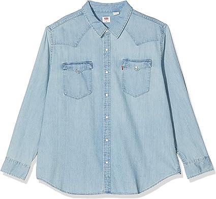 Levis Classic Western Camisa Abotonada, Red Cast Stone Wash Takedown H2 19 0007, 1XL para Hombre: Amazon.es: Ropa y accesorios