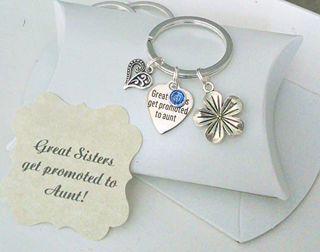 Amazon.com: Gift For New Aunt, Pregnancy Announcement, New Baby ...