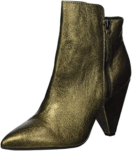 acff2836817 Kenneth Cole New York Women s Galway Side Zip Heeled Bootie Ankle Boot