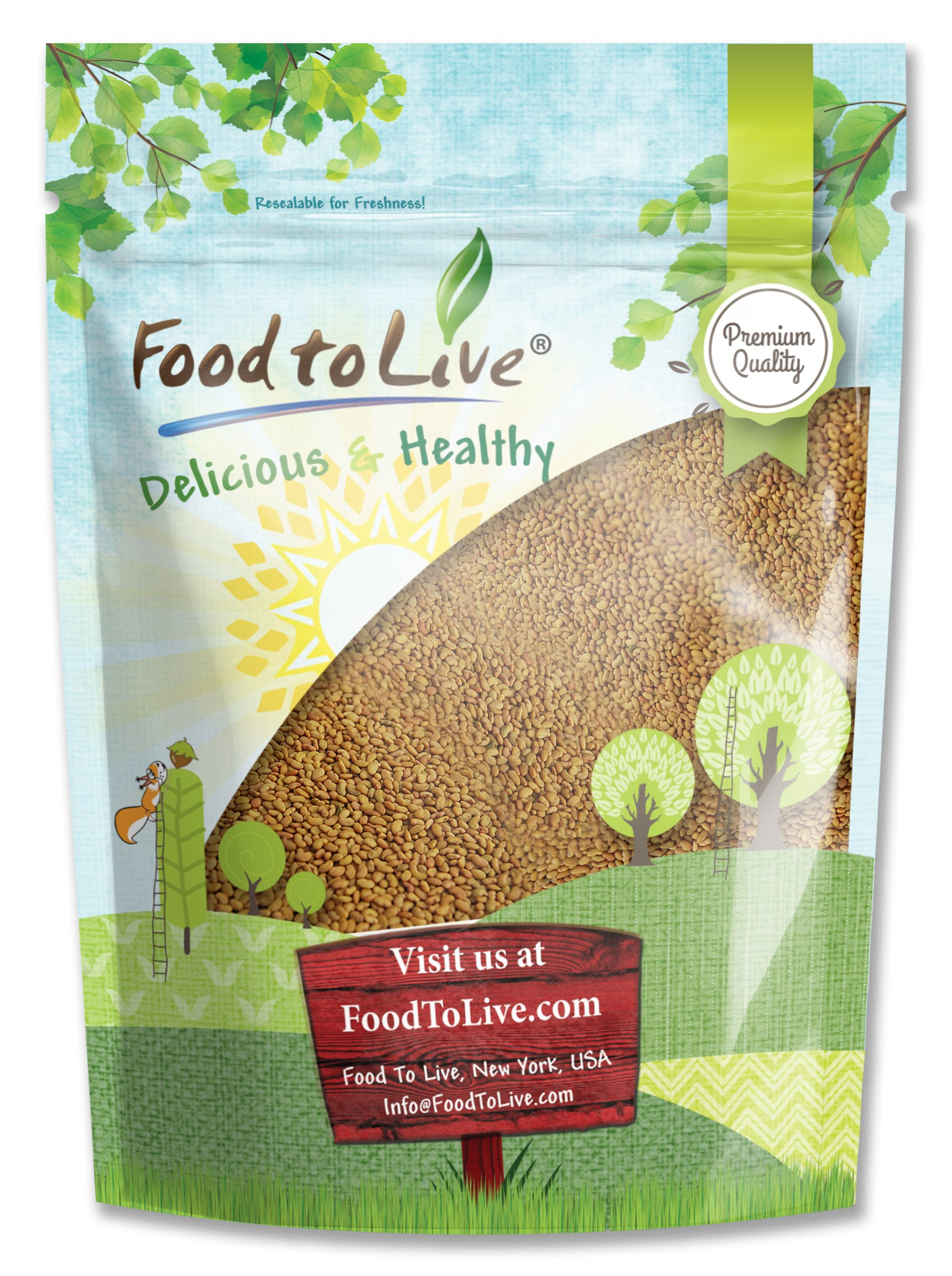 Food to Live Alfalfa Sprouting Seeds (8 Ounce)