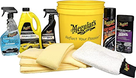 Meguirs's All in One Essentials Car Care Kit