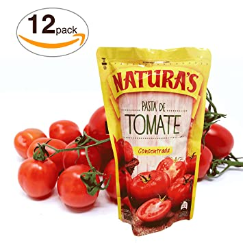 Tomato Paste -Naturas ® Pasta De Tomate Concentrada | 100% Plant Based | Ready