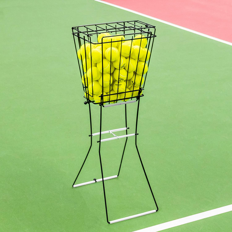Vermont Récipient de Balles de Tennis – Seau de 72 Balles [Net World Sports]