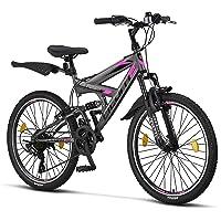 Licorne Strong Bike - Bicicleta de montaña prémium de 26 pulgadas, para niños, niñas,…