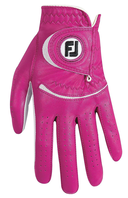 FootJoy 2014 Lady Spectrum Dark FuchsiaゴルフグローブtoフィットLeft Hand Dark FuchsiaミディアムラージRegular 65706   B00IFSL57G