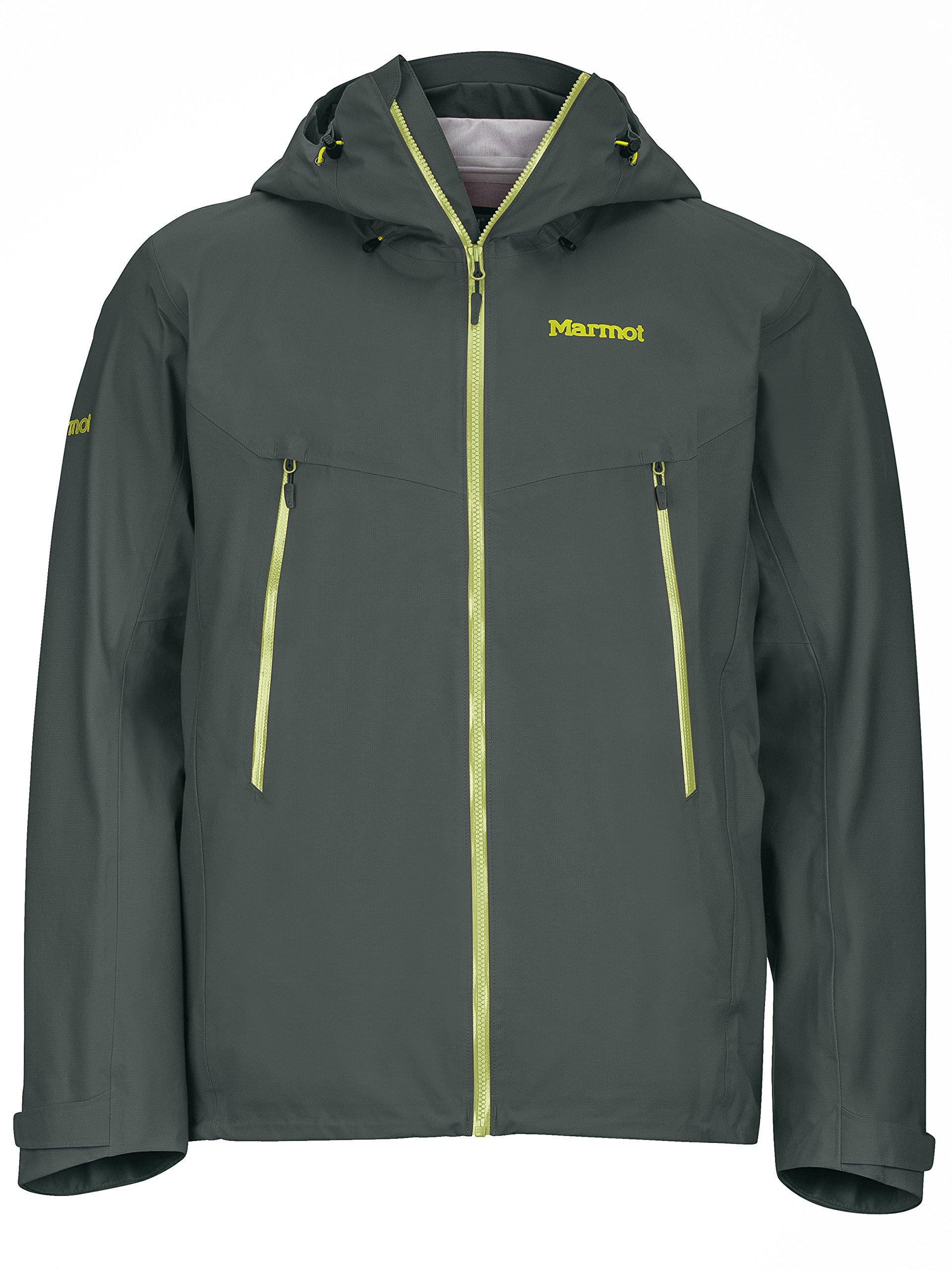 Marmot Red Star Men's Waterproof Rain Jacket, Medium, Dark Zinc by Marmot