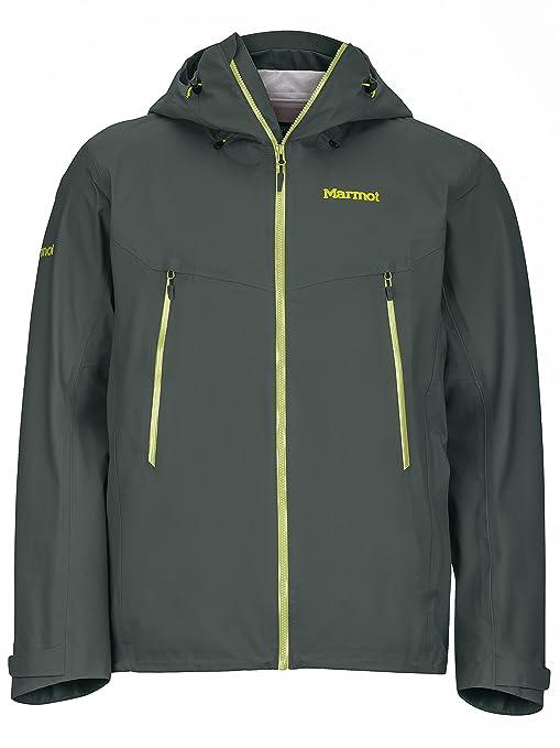 Amazon.com  Marmot Red Star Men s Waterproof Rain Jacket  Sports ... 3a9096034c