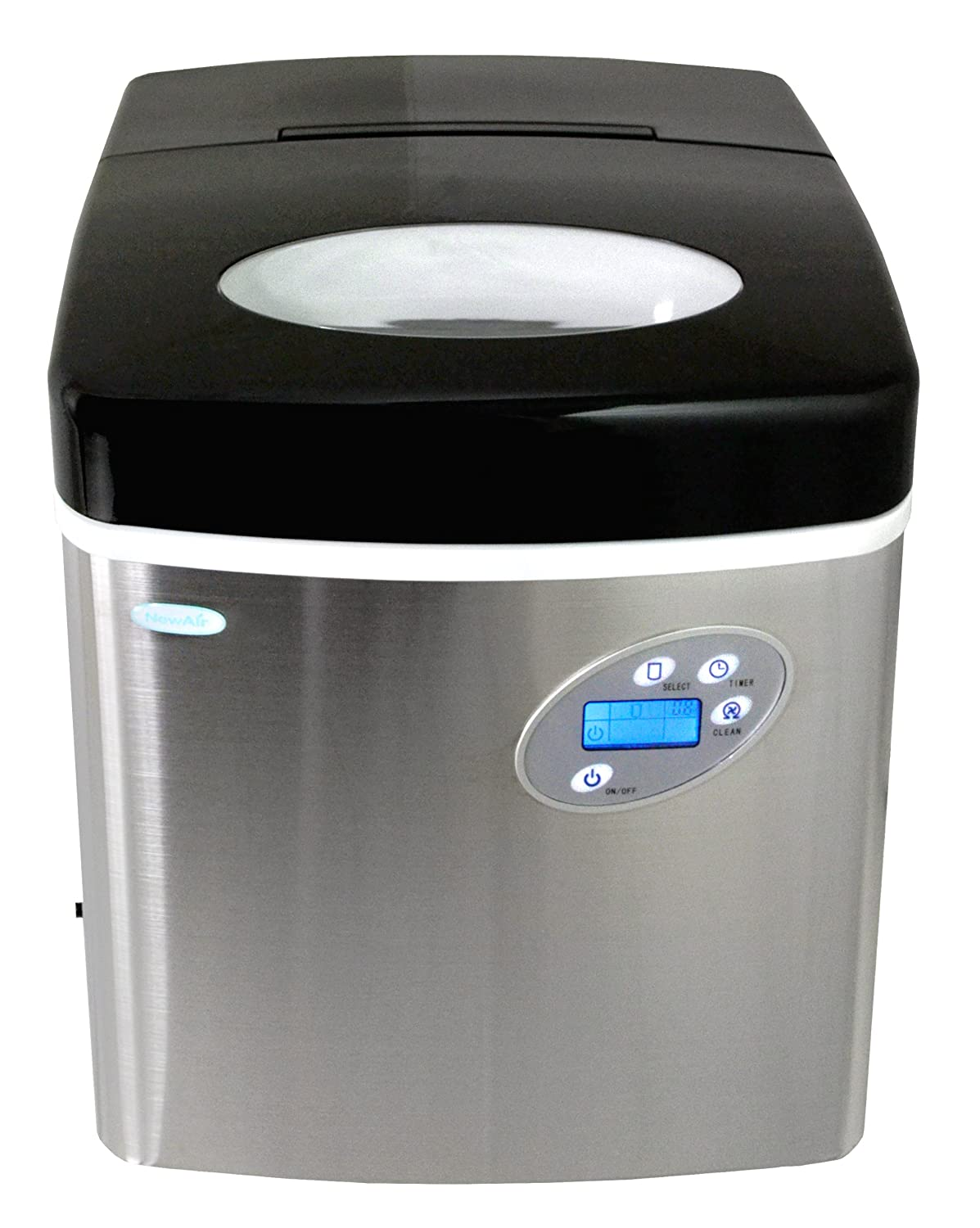 Amazon.com: NewAir AI 215SS | Portable, Countertop Ice Maker | 50 Lbs |  Stainless Steel: Appliances