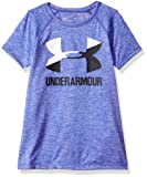 Under Armour Girls' Novelty Big Logo Short Sleeve