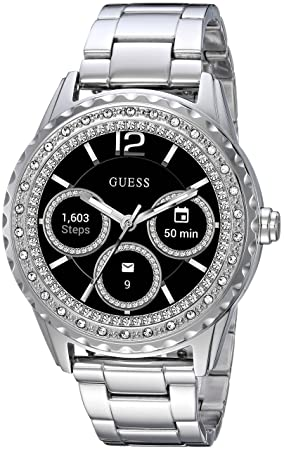 Guess Jemma Ladies Touch AMOLED Plata Reloj Inteligente: Amazon.es: Electrónica