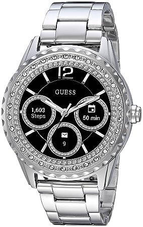 GUESS Jemma Ladies Touch AMOLED Plata Reloj Inteligente: Amazon.es: Electrónica
