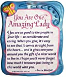 """Sculpted Magnet: You Are One Amazing Lady, 3.0"""" x 3.5"""""""