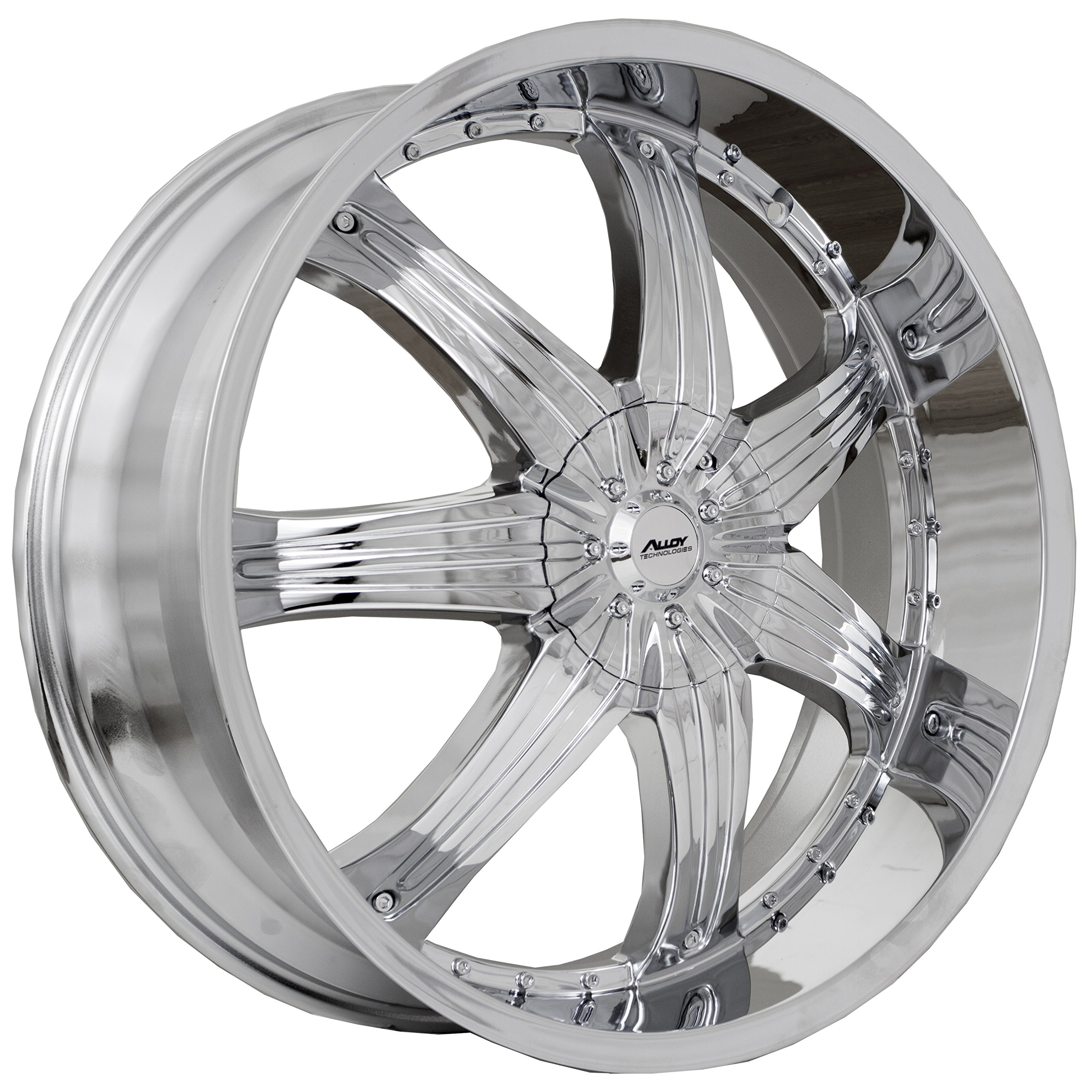 Alloy Technologies Wheels A-TECH AT412 28X10 BLANK +15 CHROME 73.1MM