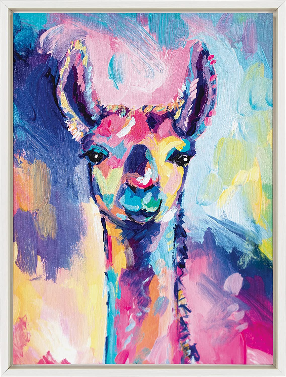 quality assurance Kate and Laurel Sylvie Lolly The Art Canvas Framed by Llama Wall Max 86% OFF