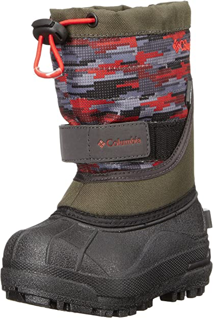 Columbia Kids Toddler Powderbug Plus Ii Print Snow Boot