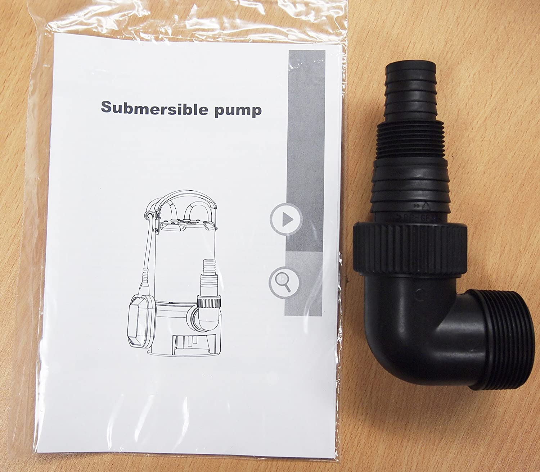 Submersible Water Pump Stainless Steel 1hp 10000 L H Tsurumi Wiring Diagram Trash Clean Flooding Pool Garden Outdoor