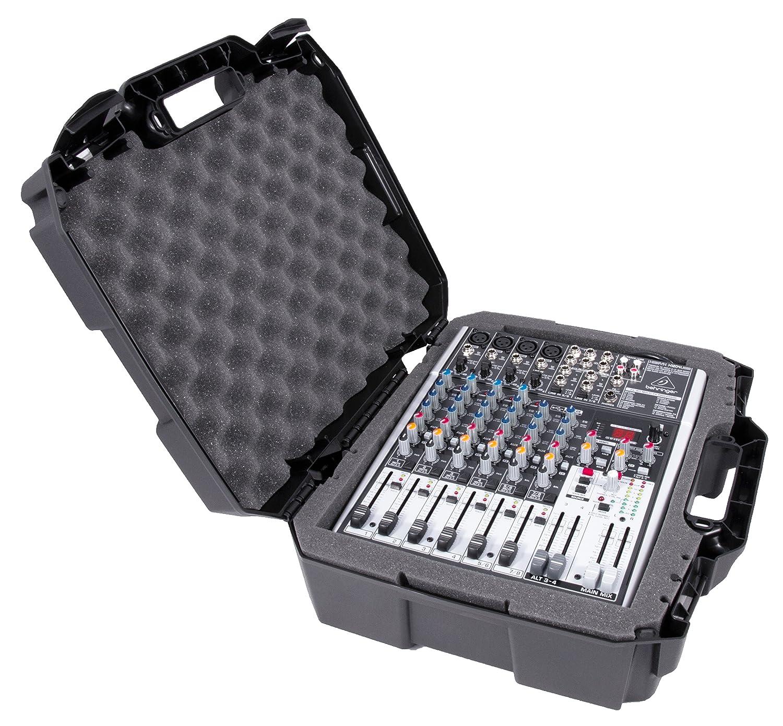 MixerCASE 17 Mixer Carrying Case Fits Behringer XENYX X1204USB, 1204USB, QX1204USB, Q1204USB, 1202FX, 1202, 802, Q802USB, QX1202USB, 1002FX, QX1002USB, 1002B, Q1202USB, 1002, Q1002USB CASEMATIX TAC17-MXR-BHR