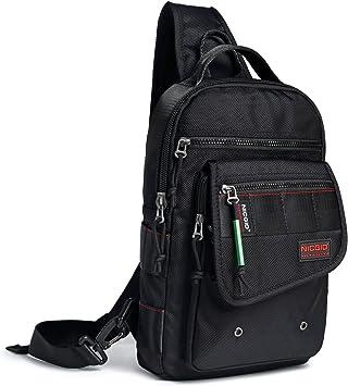 Men Outdoors Sling Chest Bag Pack Messenger Shoulder Bag Handbags