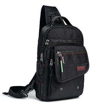 Amazon.com: nicgid Sling bolsa de pecho Mochila de hombro ...