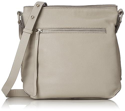 Clarks - Topsham Jewel, Shoppers y bolsos de hombro Mujer, Grau (Light Grey