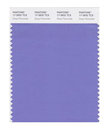Pantone Smart 17 3932x Color Swatch Card Deep Periwinkle House