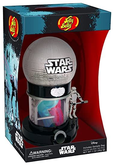 Disneys Star Wars Candy Dispenser (includes 1-oz Jelly Belly JellyBeans)