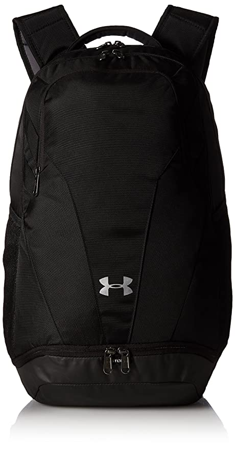 Under Armour Team Hustle 3.0 Backpack, Black  Silver, One Size Fits All 0f56c3e9d0
