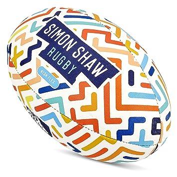 Simon Shaw - Balón de Rugby para Rugby (Talla 3): Amazon.es ...