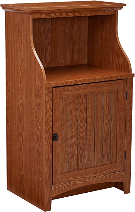 Beau Sauder Summer Home Gourmet Free Standing Cabinet, Carolina Oak Finish