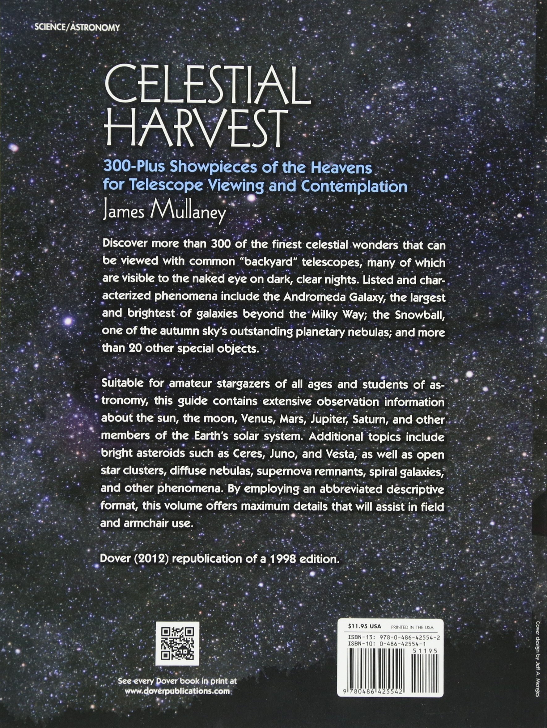 buy celestial harvest 300 plus showpieces of the heavens for