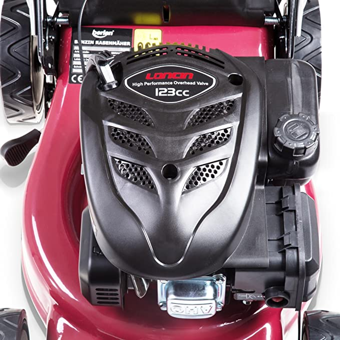 Berlan 4 PS Cortacésped de gasolina con corte de 43 cm ancho ...