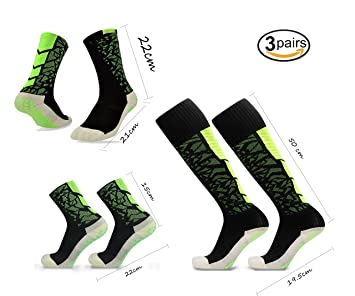 Towel Socks Compression Sport Stockings for Soccer Football Outdoor Activity