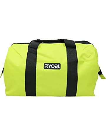 4e1908fabc Ryobi Green Wide Mouth Collapsible Genuine OEM Contractor's Bag w/ Full Top  Single Zipper Action
