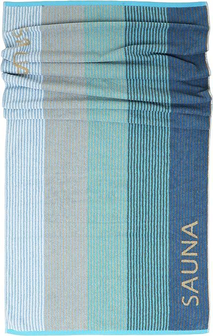 HERIKE toalla de playa de algod/ón Toalla de sauna Pestemal Fouta 100 x 180 cm color beige