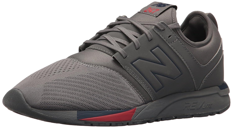 New Balance Herren 247 Classic Mesh Sneaker  42.5 D EU Grey/Yellow