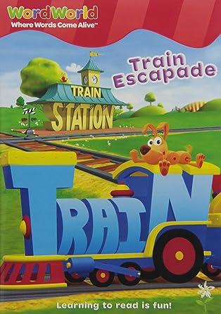 Amazon com: Word World: Train Escapade: Wordworld: Movies & TV