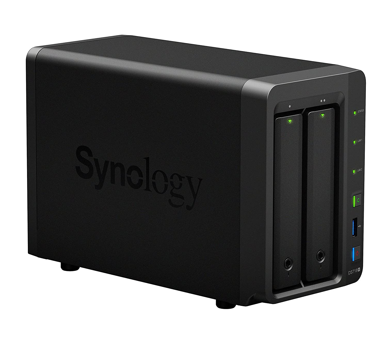 Synology DS718+ NAS Compacto Ethernet Negro - Unidad Raid (4000 GB ...