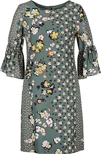 Taifun Kleid Gewebe Vestido para Mujer