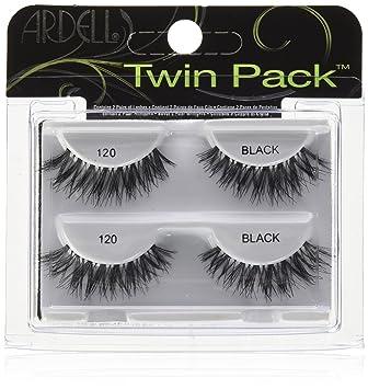 1990252e15 Amazon.com : Ardell Fashion Lashes Natural Strip Lash, Black [120] 1 ea  (Pack of 2) : Beauty