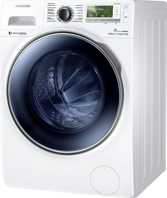 1224/kWh technologie Eco-Bubble capacit/é de 12/kg nettoyage /économique du tambour Lave-linge s/échant Samsung WD12J8400GW//EG blanc
