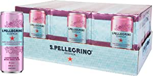 Sanpellegrino Essenza Dark Morello Cherry & Pomegranate, 24 x 330 mL