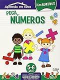 Pega Números. 5-6 Años