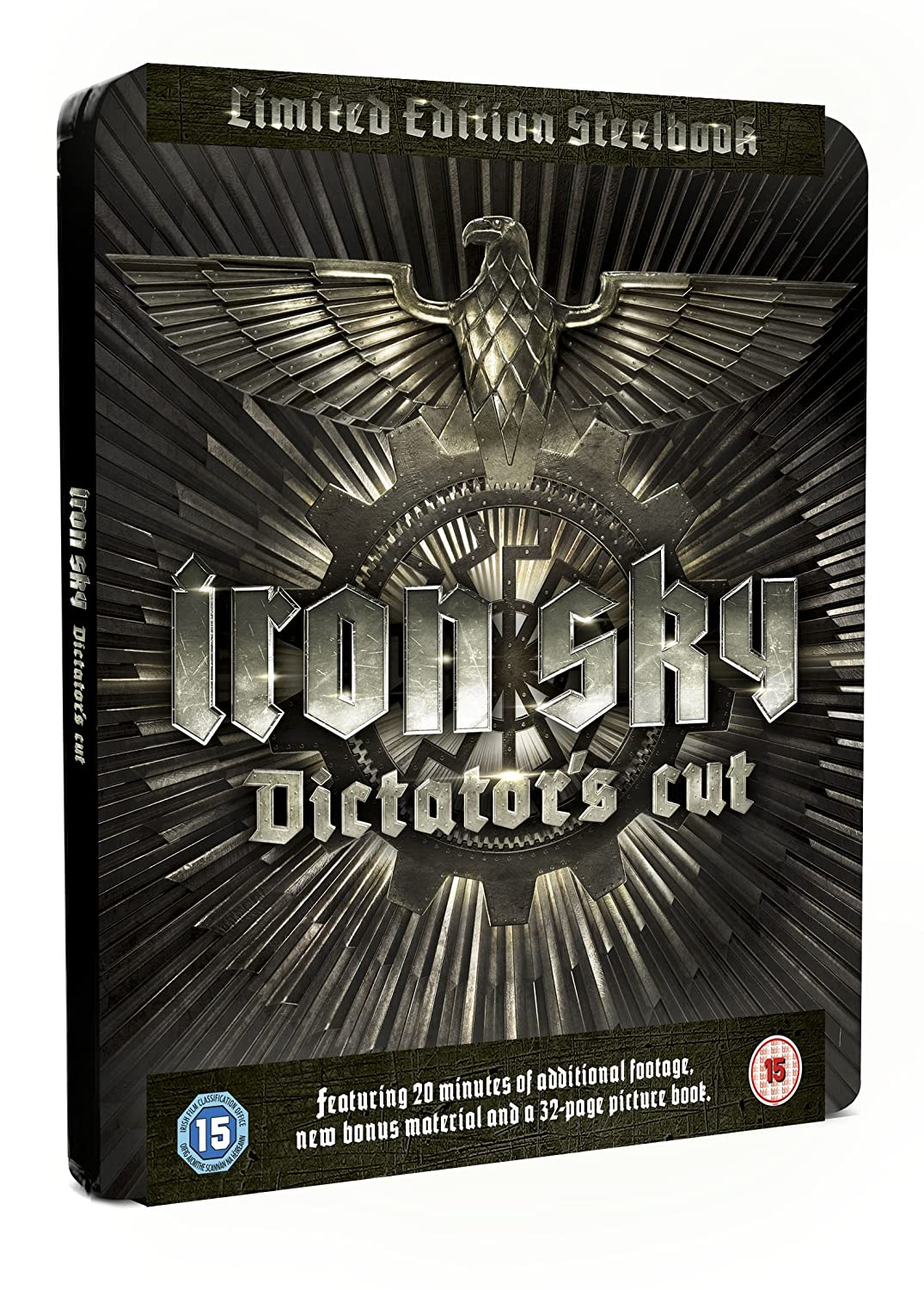 Iron Sky: Dictators Cut - Limited Edition Embossed Steelbook Blu-ray Reino Unido: Amazon.es: Julia Dietze, Udo Kier, Peta Sergeant, Kym Jackson, Götz Otto, ...