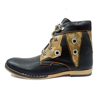 c098a99ab1b Bullet Miami - Mens   Boys Casual Shoe -High Heel - Synthetic - Brown   Amazon.in  Shoes   Handbags