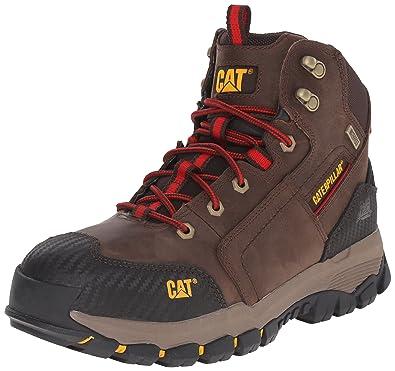 88a235f7943 Caterpillar Men's Navigator Mid Waterproof Work 6 Inch Waterproof Soft Toe