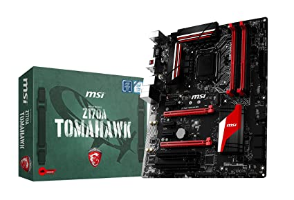 MSI Z170A Tomahawk Motherboard Motherboards at amazon