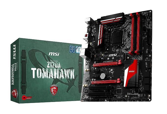 150 opinioni per MSI 7970-001R Z170A Tomahawk Scheda Madre, Nero/Rosso