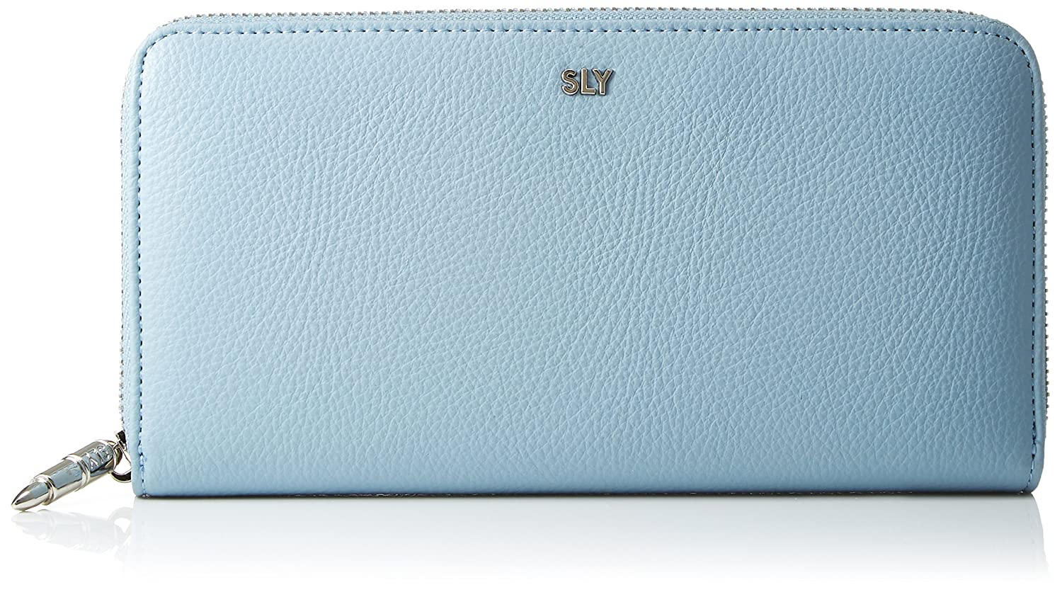 [スライ] ROUND ZIPPED WALLET NEO SHRINK(SLG) s09211204 B079YZ68NV  サックス