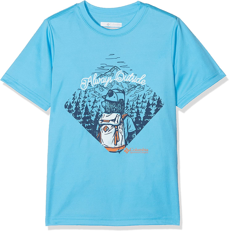 Gar/çons Always Outside Columbia Tee-shirt